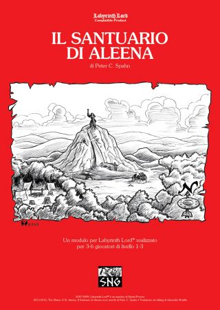 Il Santuario di Aleena Cover F