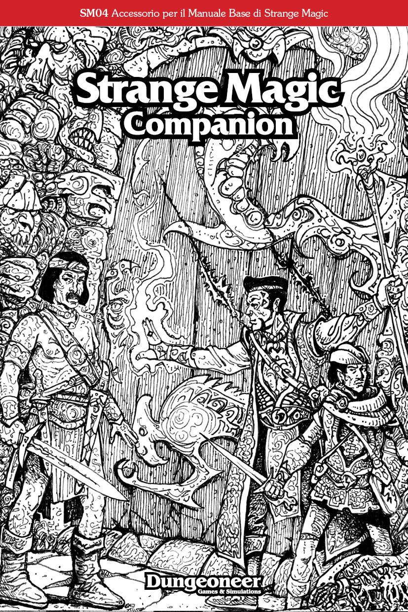 SM4 Strange Magic Companion Cover