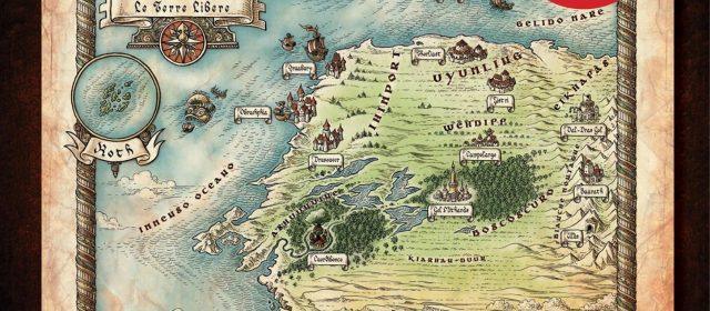 Arriva la Mappa delle Terre Libere, edizione limitata in esclusiva per Lucca Comics & Games.